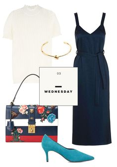 What You Should Wear to Work This Week: An Outfit a Day via @WhoWhatWearUK