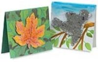 Plantable Pulp cards... make shaped piece of handmade paper from left over scraps and add flower and veggie seeds to pulp. Plant in soil when planting season comes to grow in garden