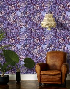 Justina Blakney's new wallpaper collection for Hygge & West | Link Lovin' | The English Room