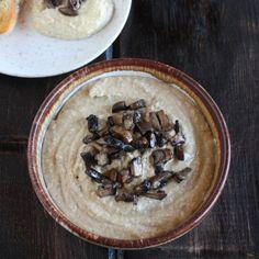 Mushroom Hummus - The Hopeless Housewife®