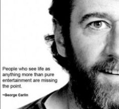 A George Carlin quote