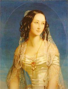 Portrait of Grand Duchess Zinaida Yusupova - Christina Robertson