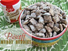 Biscoff Muddy Buddies....ooohhhh Biscoff!!!:)