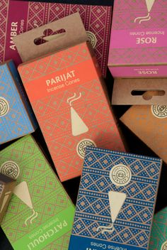 Cottage Incense designed by Impprintz Graphic Design Studio (India)