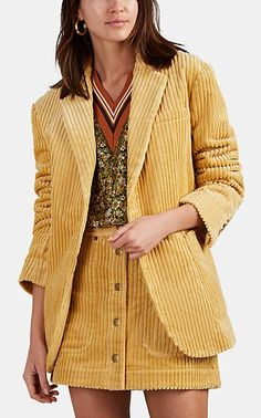 Land of Distraction Tommy Corduroy Oversized Jacket - Jackets - 506204705 Beautiful Outfits, Cool Outfits, Suits For Women, Clothes For Women, Corduroy Skirt, Corduroy Jacket, Oversized Jacket, Mode Hijab, Blazer