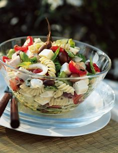 Salade de pâtes à la niçoise