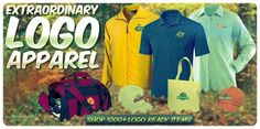 Custom Logo Tee Shirts, Polos, Button Downs, Hats, Jackets & More!