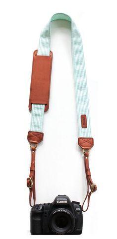 Mint camera strap