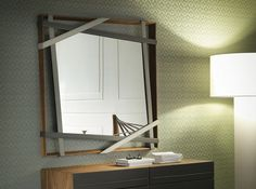 Rebus Square Wall Mirror by Cattelan Italia - $3,650.00