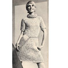 Knitting with the Big Needles (Crochet Too!) on Pinterest Mini Dresses, Kni...