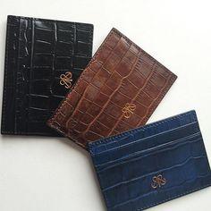 S3 cardholders #krokodil #kartlık #danaderisi #cardholder #cardcase #deriaksesuarlar #derikartlık #basedinistanbul #serapaktug #serapaktugleathergoods #cardcase #luxe #accessories