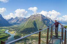 **Rampestreken (viewpoint) - Andalsnes, Norway
