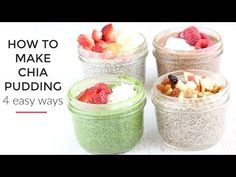 The Best Chia Seed Pudding Recipe Delicious Flavors) . Get Chia Seed Pudding Recipe from Food NetworkBanana Cake with Chia Seeds . Best Chia Seed Pudding Recipe, Coconut Chia Pudding, Chocolate Chia Pudding, Pudding Recipes, Pouding Chia, Cetogenic Diet, Clean And Delicious, Recipe For 4, Base Recipe