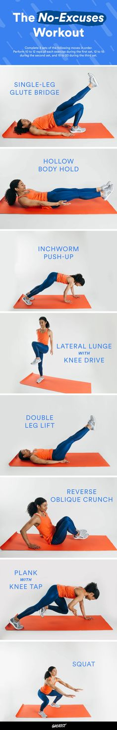 You can literally roll out of bed and do these surprisingly effective moves in your PJs. #morning #workout #fitness https://greatist.com/move/easy-morning-workout
