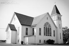 St. Paul United Church of Christ - Marlin, TX by photography by claudine, via Flickr