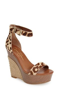 Jessica+Simpson+'Arista'+Wedge+Sandal+(Women)+available+at+#Nordstrom