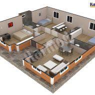 تصاميم بيوت جاهزة Model House Plan, House Plans, House Map, Model Homes, Villas, Arch, How To Plan, Longbow, Villa