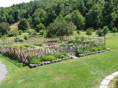 Vegetable Garden Fence Ideas   ... Men and a Little Farm: INSPIRATION THURSDAY, HOBBIT STYLE GARDEN FENCE