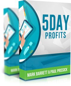 5 Day Profits is a step-by-step video training and case study from Mark Barrett, where he will show you the method he uses to generate quick sales with no list and no website. This works to bank some quick cash and can be scaled for a full-time income!
