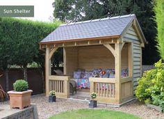 Summerhouses & Outdoor Living | Cheshire Oak Structures