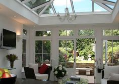 Orangery on Victorian house in Clapham South West London