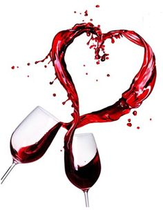 Red, Red Wine ...  Beso de Vino