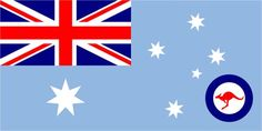 Ensign of the Royal Australian Air Force - Royal Air Force Ensign Royal Australian Navy, Royal Australian Air Force, Australian Flags, Navy Aircraft, Military Aircraft, Australian Defence Force, Military Insignia, Fighter Pilot, Geography