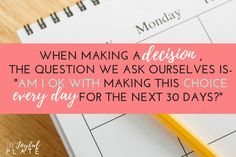 Stop Self-Sabotaging Your Diet With This One Simple Question! - www.AJoyfulPlate.com Pinterest