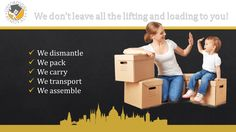 We don't leave all the lifting and loading to you! We dismantle We pack We carry We transport We assemble Office Relocation, House Movers, Moving House, Furniture Companies, Transportation, Oxford, How To Remove, Van, Student