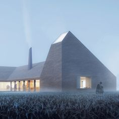 Oslo-based architecture firm Reiulf Ramstad Arkitekter has unveiled plans for a new agricultural education centre in the Jutland region of Denmark.