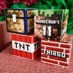 Sugestões e ideias para festa no tema Minecraft – Blog Inspire sua Festa