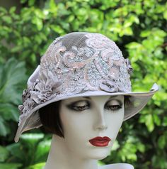 Summer Wedding Hat Sinamay Hat Fancy Hat Hats for by GailsHats