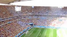 Himno argentino ante Bélgica!
