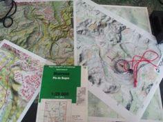 Lectura de mapas Topográficos y brújula