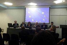 Il Consigliere Diplomatico Raimondo VILLANO ad un convegno della Rappresentanza in Italia della Commissione europea. (Roma, Spazio Europa, 17 ottobre 2016);