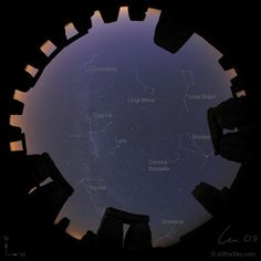 Stonehenge...digital image of the sky