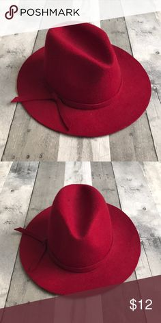Red fedora hat Red Fedora Accessories Hats Red Fedora Hat 561e1b734644