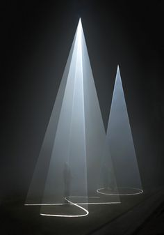 light art installation An overview of both the early and more recent works of British artist Anthony McCall Logo Led, Instalation Art, Light Film, Light Works, Light And Space, Stage Design, Set Design, Modern Design, Light And Shadow