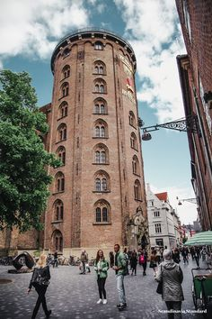 A list of the top attractions, museums and special spots that tourists shouldn't miss in Copenhagen, Denmark. Visit Denmark, Denmark Travel, Copenhagen Travel, Copenhagen Denmark, Budapest, Round Tower, Travel Memories, Where To Go, Amsterdam