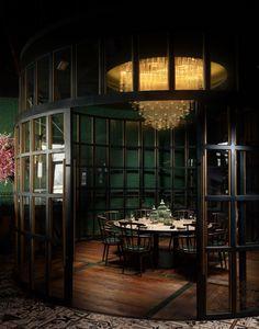 Hospitality Designs: Aji Restaurant - Palm Dubai - Love That Design Outdoor Restaurant Design, Luxury Restaurant, Restaurant Concept, Restaurant Interior Design, Shop Interior Design, Industrial Restaurant Design, Japanese Restaurant Interior, Bangkok Restaurant, Restaurant Restaurant