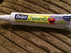 Baby Orajel Naturals homeopathic Nighttime formula I recieved from Smiley360 #FreeSample #BabyOrajelNaturals