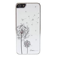 dandelion caso difícil de design para iPhone 5/5s (cores sortidas) – BRL R$ 30,96