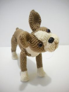 This listing is for a Crochet Pattern only NOT a finished item. Boston Terrier is approx. 8 (19.5 cm) . The Pattern is for expirienced and advanced level
