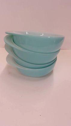 FREE SHIPPING Pyrex JAJ Duck Egg Blue Jockey Cups by NotTooShabbyByCamy on Etsy https://www.etsy.com/listing/482153608/free-shipping-pyrex-jaj-duck-egg-blue