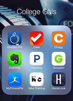 top apps every college girl should have.