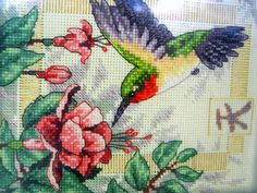 Dimensions Gold Nuggets Exquisite Hummingbird Cross Stitch Kit 35059 Gold Tassel #DimensionsGoldNuggets