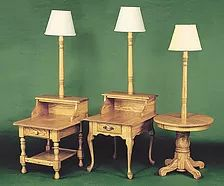 Marvelous Add A Lamp And Lamp Top To Many End Tables|50+ Ways · Hardwood FurnitureAmish  FurniturePittsburghTablesTips