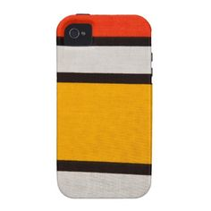 Retro stripes iPhone 4 case iPhone 4 Covers