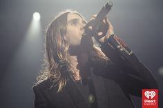 Jared Leto, 30 Seconds to Mars from IHeart Radio 2013. His cover of 'Stay' is my new favorite song.