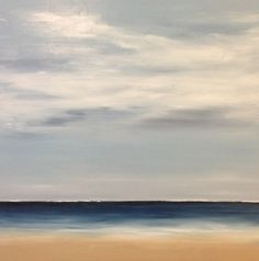 "Modern Series.  Coastal Modern, 2013 Oil on canvas 30"" x 30""  SOLD"